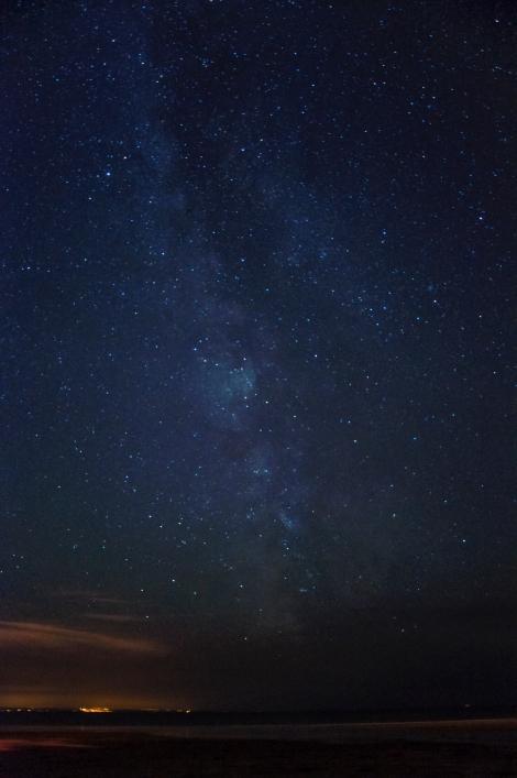 Nocne niebo, © Piotrek Nowak