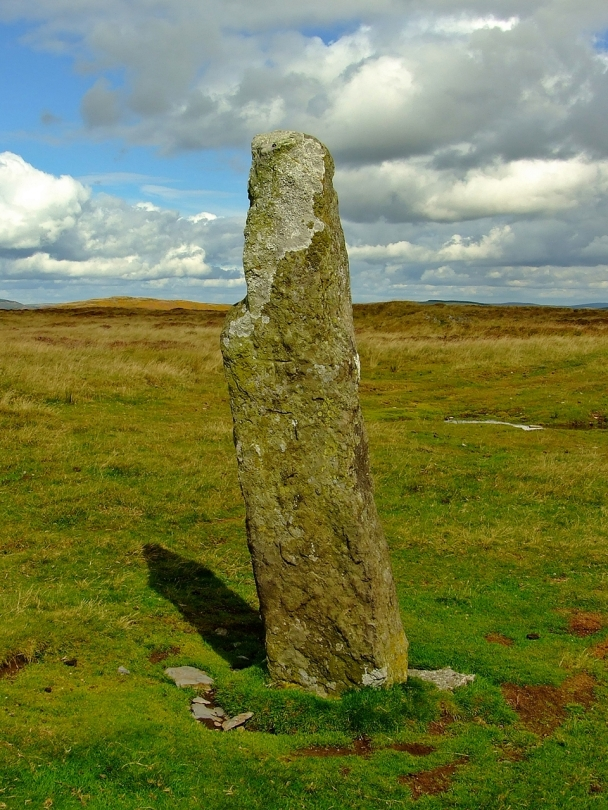 Maen Serth standing stone