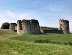 Zamek Flint oraz Park Wepre z zamkiem Ewloe